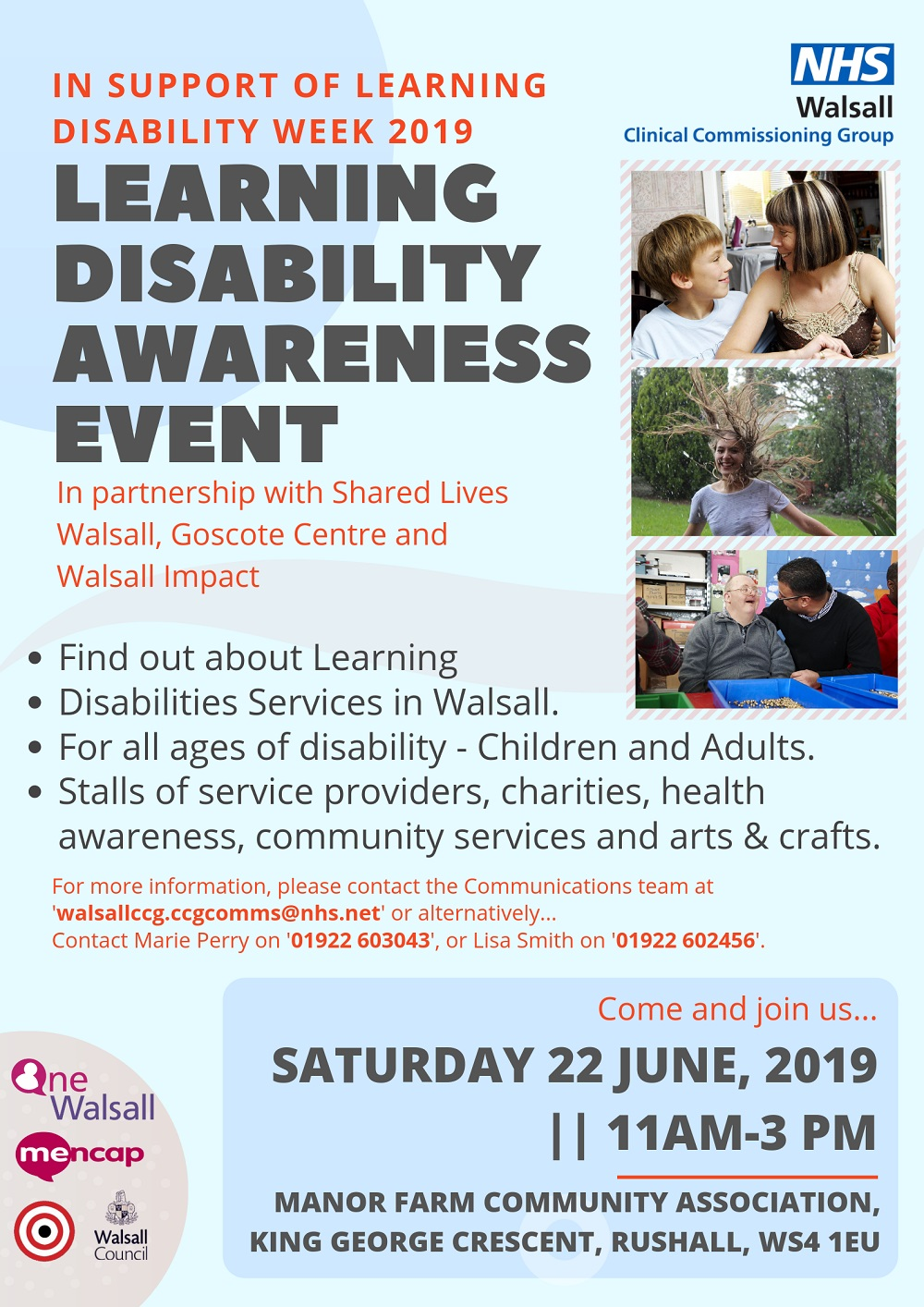 Learning disability event