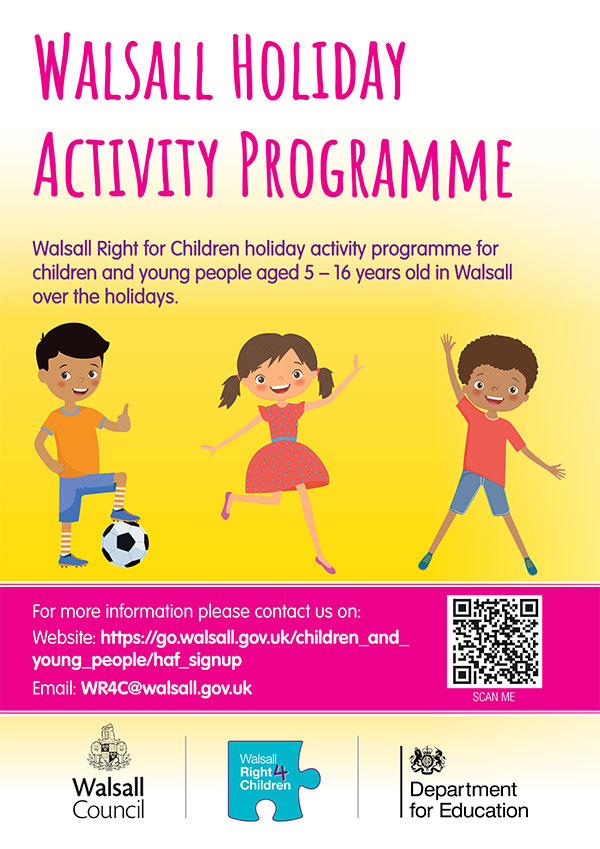Walsall Holiday Activity Programme
