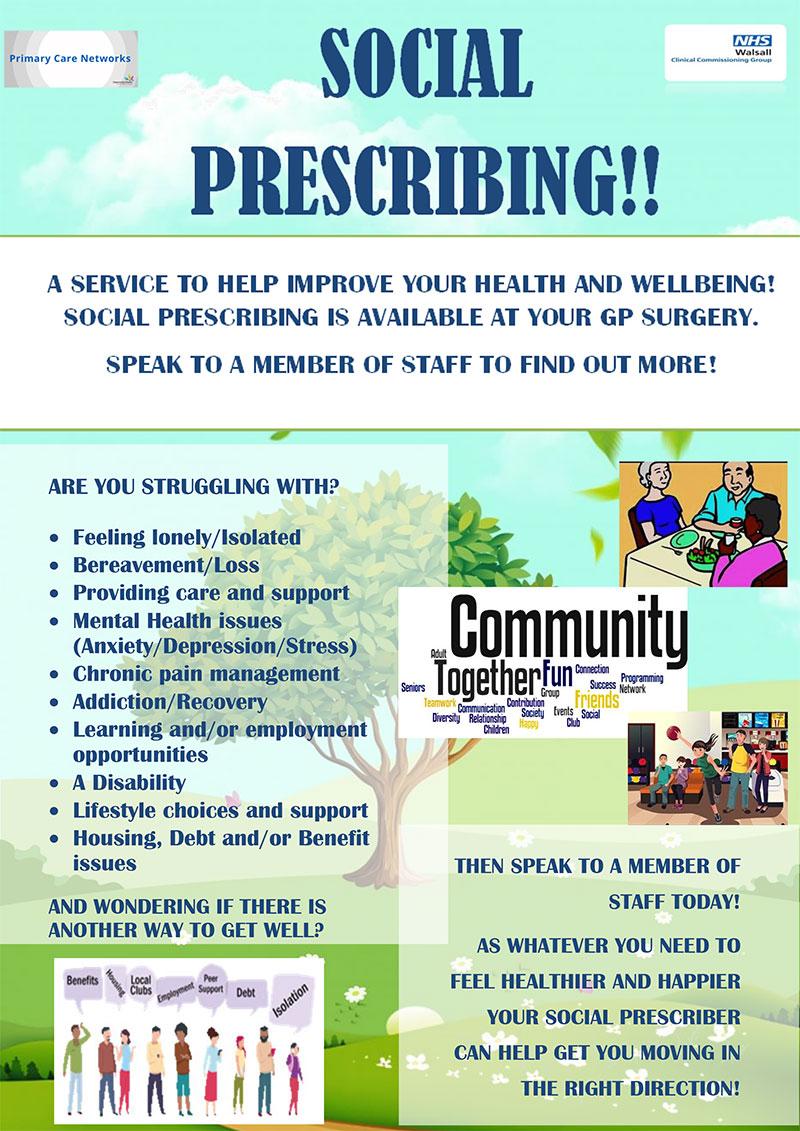 Social Prescribing Poster