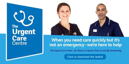 When you need care quickly but it's not an emergency - we are here to help